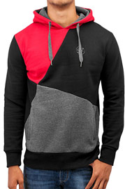 JUST RHYSE Three Tone Hoody Grey auf oboy.de