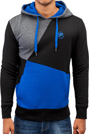 JUST RHYSE Three Tone Hoody Blue auf oboy.de