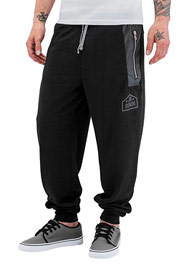 JUST RHYSE Ray Sweat Pants Black auf oboy.de