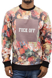 JUST RHYSE Fuck Off Sweatshirt Colored auf oboy.de