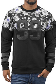 JUST RHYSE 99 Sweatshirt Black auf oboy.de