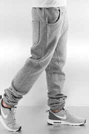 JUST RHYSE Rasco Zip Sweat Pants Grey Melange auf oboy.de