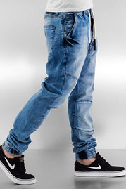 JUST RHYSE Cool Straight Fit Jeans Medium Blue auf oboy.de