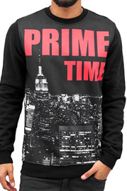 JUST RHYSE Prime Time Sweater Black auf oboy.de