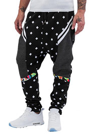 JUST RHYSE Confuse Sweat Pants Black auf oboy.de