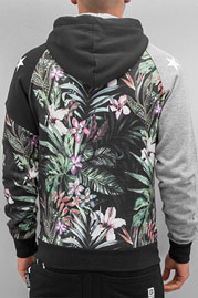JUST RHYSE Jungle Zip Hoodie Black auf oboy.de