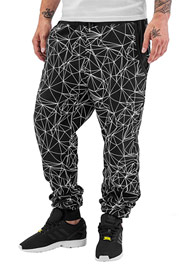 JUST RHYSE Network Sweat Pants Black auf oboy.de