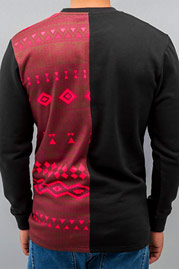 JUST RHYSE Indian Sweatshirt Black auf oboy.de