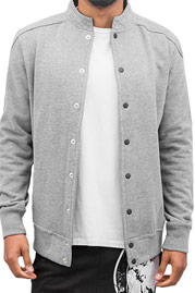 JUST RHYSE Blank College Jacke Grey auf oboy.de