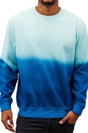 JUST RHYSE Two Tone Sweatshirt Blue auf oboy.de