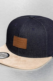JUST RHYSE The Company Snapback Cap Blue auf oboy.de