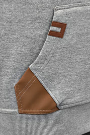JUST RHYSE Rollneck Jacket Grey Melange auf oboy.de
