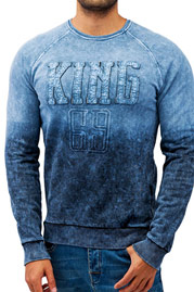 JUST RHYSE King Sweatshirt Blue auf oboy.de