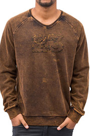 JUST RHYSE 23 Sweatshirt Black Brown auf oboy.de