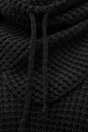 JUST RHYSE Rollneck Sweater Black auf oboy.de