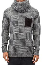 JUST RHYSE Rollneck Sweater Anthracite auf oboy.de