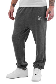 JUST RHYSE Arrow Sweat Pants Grey auf oboy.de