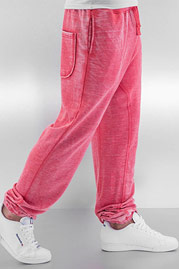 JUST RHYSE Soft Sweat Pants Red auf oboy.de