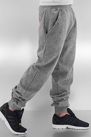 JUST RHYSE Speckle Sweat Pants Grey Melange auf oboy.de