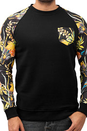 JUST RHYSE Jungle Sweatshirt Black auf oboy.de