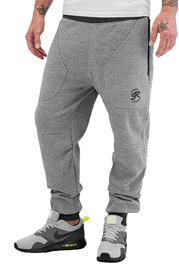 JUST RHYSE Lenny Sweat Pants Grey Melange auf oboy.de