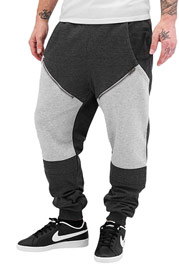 JUST RHYSE Crazy Sweat Pants Grey Black auf oboy.de