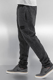 JUST RHYSE Pure Sweat Pants Black auf oboy.de
