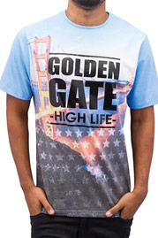 JUST RHYSE High Life T-Shirt Colored auf oboy.de