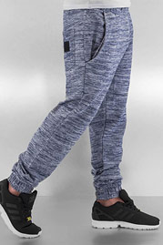 JUST RHYSE Stripe Sweat Pants Grey auf oboy.de