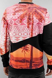 JUST RHYSE Palms Sweatshirt Black auf oboy.de