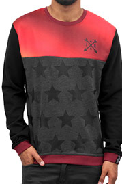 JUST RHYSE Stars Sweatshirt Black auf oboy.de