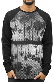 JUST RHYSE Miami Sweatshirt Black auf oboy.de