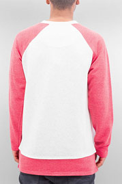 JUST RHYSE Pineapple Sweatshirt Red/White auf oboy.de