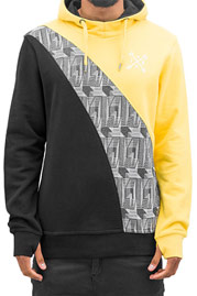 JUST RHYSE Arrow Hoody Yellow auf oboy.de