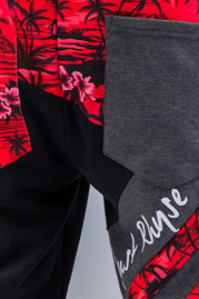 JUST RHYSE Palms Sweat Pants Black auf oboy.de