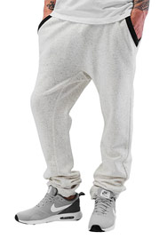 JUST RHYSE Aleno Sweatpants White Speckled auf oboy.de