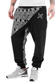 JUST RHYSE Lexington Sweat Pants Black auf oboy.de