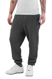 JUST RHYSE Yonkers Sweat Pants Grey/Turquoise auf oboy.de