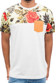 JUST RHYSE Rose T-Shirt White auf oboy.de
