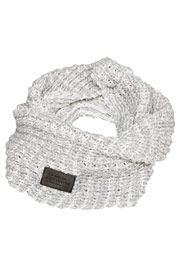 JUST RHYSE Knit Scarf White/Grey auf oboy.de