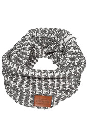 JUST RHYSE Knit Scarf Anthracite/White auf oboy.de