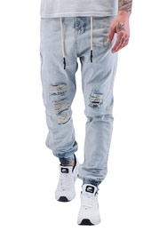 JUST RHYSE Luke Antifit Jeans Light Blue Denim auf oboy.de