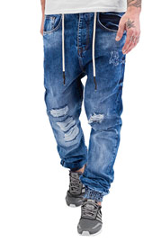 JUST RHYSE Luke Antifit Jeans Dark Blue auf oboy.de