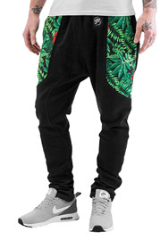 JUST RHYSE Jungle Sweat Pants Black auf oboy.de
