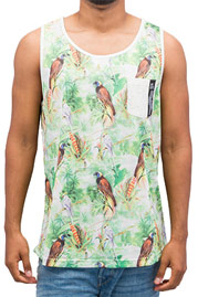 JUST RHYSE Mesh Tank Top Colored auf oboy.de