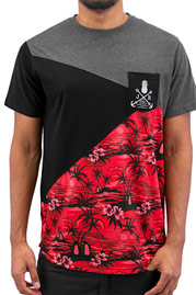 JUST RHYSE Alexander  T-Shirt Black auf oboy.de