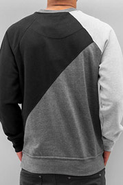 JUST RHYSE 3 Tone Sweatshirt Black auf oboy.de