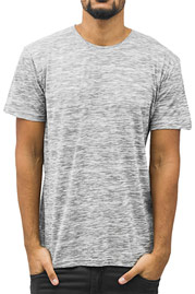 JUST RHYSE Enver T-Shirt Grey auf oboy.de