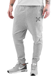JUST RHYSE Arrow Sweatpants Grey Melange auf oboy.de