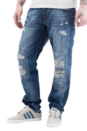JUST RHYSE Joona Straight Fit Jeans Blue auf oboy.de